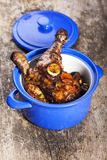 Coq au vin Royalty Free Stock Photos