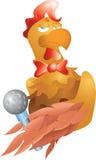 Coq beau Images libres de droits