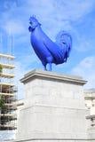 Coq bleu à Londres Photographie stock libre de droits