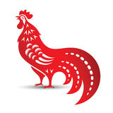 Coq chinois Photos libres de droits