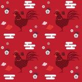 Coq chinois de nouvelle année Images libres de droits