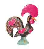 Coq en céramique traditionnel Photographie stock