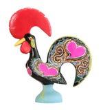 Coq en céramique traditionnel Photo libre de droits
