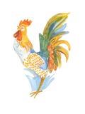 Coq - symbole de nouvelle année Image stock