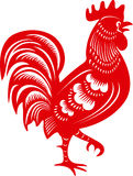 Coq Symbole de zodiaque chinois d'année illustration stock