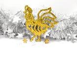 Coqs de Noël Photographie stock libre de droits
