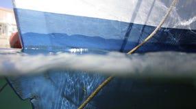 Coque de bateau image libre de droits