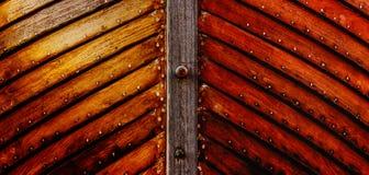 Coque en bois Photo libre de droits