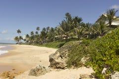 Coqueirinho beach, Conde PB, Brazil Royalty Free Stock Photo
