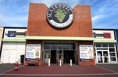 COQUELLES, PAS-DE-CALAIS, FRANKRIJK, 07 MEI 2016: Majestueus wijnpakhuis Royalty-vrije Stock Fotografie