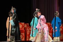 """Coquetry in elders- Beijing Opera"""" Women Generals of Yang Family"""" Stock Photos"""