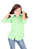 Coquette girl Royalty Free Stock Photos