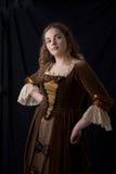 Coquette renaissance portrait Royalty Free Stock Images