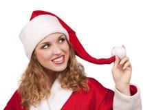 Coquette Santa Stock Images