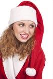 Coquette Santa imagens de stock royalty free
