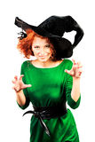 Coquette witch Stock Images