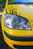 Coquettish car. Stock Photo