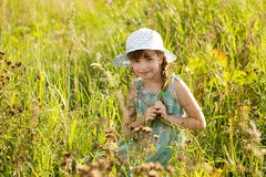 Coquettish girl Royalty Free Stock Photography