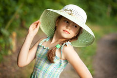 Coquettish girl Royalty Free Stock Photos