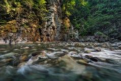 Coquihalla River3 Fotografia Stock Libera da Diritti