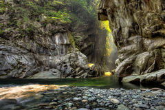 Coquihalla River2 Fotografie Stock Libere da Diritti