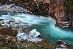 Coquihalla River Rapids, British Columbia, Canada Stock Photo
