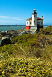 Coquile latarnia morska, Oregon wybrzeże Obraz Royalty Free