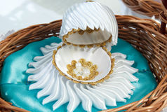 Coquille blanche de luxe Image stock