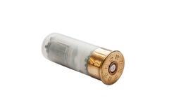 Coquille de fusil de chasse d'isolement sur le blanc Image stock