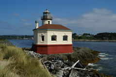 Coquille river Lighthouse 2 Royalty Free Stock Image