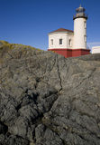 Coquille River Lighthouse Bullards Beach Park Stock Photography