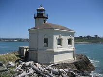Coquille River Lighthouse Stock Photography