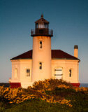 Coquille River Lighthouse. Abandoned lighthouse on the Pacific coast in Bandon, Oregon Stock Photos