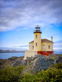 Coquille River Lighthouse, Bandon Oregon Royalty Free Stock Images