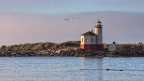 Coquille River Lighthouse, Bandon, Oregon Royalty Free Stock Photos
