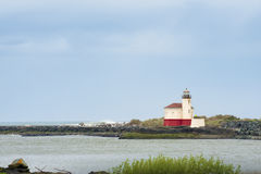 Coquille River Lighthouse in Bandon, Oregon Royalty Free Stock Photography