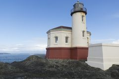 Coquille River Lighthouse royalty free stock photos