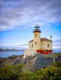 Coquille Rzeczna latarnia morska, Bandon Oregon Obrazy Royalty Free