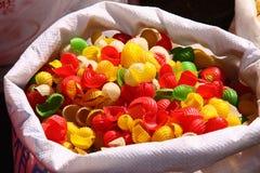 Coquilles colorées de pâtes Photo libre de droits