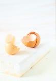Coquilles d'oeufs photographie stock libre de droits