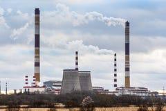 Coquilles de centrale hydroélectrique photo stock