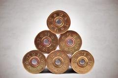 Coquilles de fusil de chasse Images stock