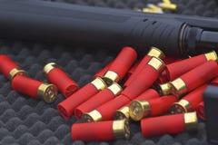 Coquilles de fusil de chasse Photos stock