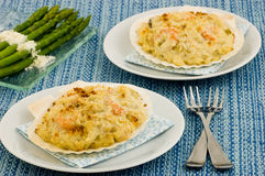 Coquilles St. Jacques royalty free stock photography
