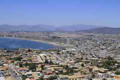 Coquimbo Chile. View of city of Coquimbo Chile Stock Photography