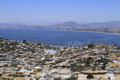 Coquimbo Chile. View of city of Coquimbo Chile Royalty Free Stock Images
