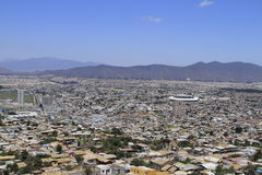 Coquimbo Chile. View of city of Coquimbo Chile Stock Photos