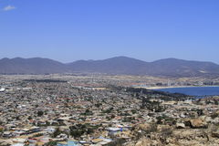 Coquimbo Chile. View of city of Coquimbo Chile Royalty Free Stock Photos