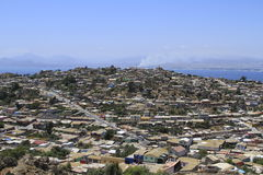 Coquimbo Chile. View of city of Coquimbo Chile Stock Image