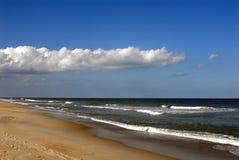 Coquina Beach II. Coquina Beach, Outer Banks of North Carolina Royalty Free Stock Images